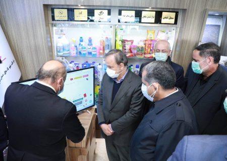 حضور وزیر صنعت درنمایشگاه توانمندی صنایع قزوین