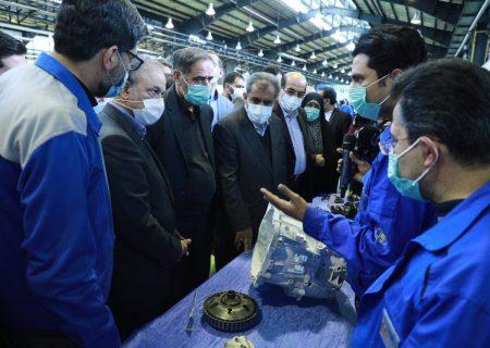 افتتاح طرح توسعه گیربکس شش سرعته در شرکت نیرومحرکه قزوین