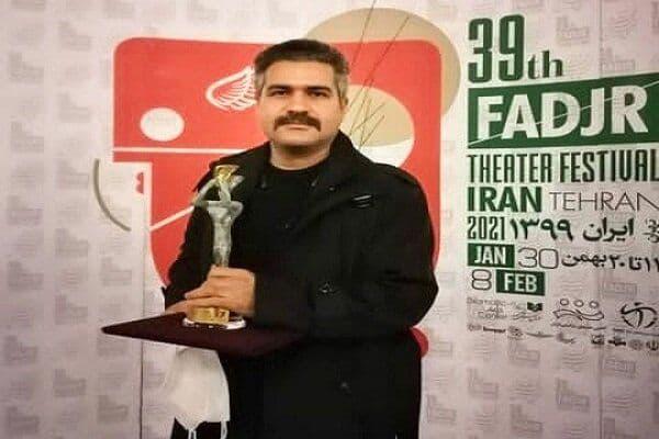 جایزه ویژه جشنواره فجر به حامد مکملی